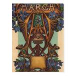 March - Aries Postcard