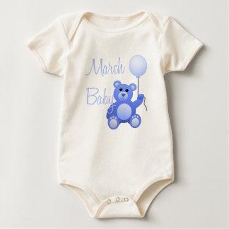 March  Baby Bodysuit
