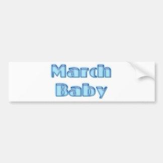 March Baby Bumper Sticker
