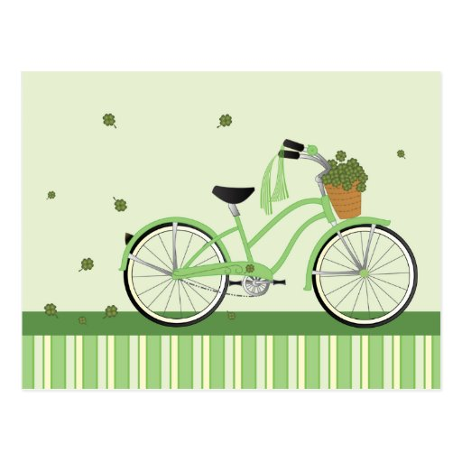 March Bicycle Post Cards