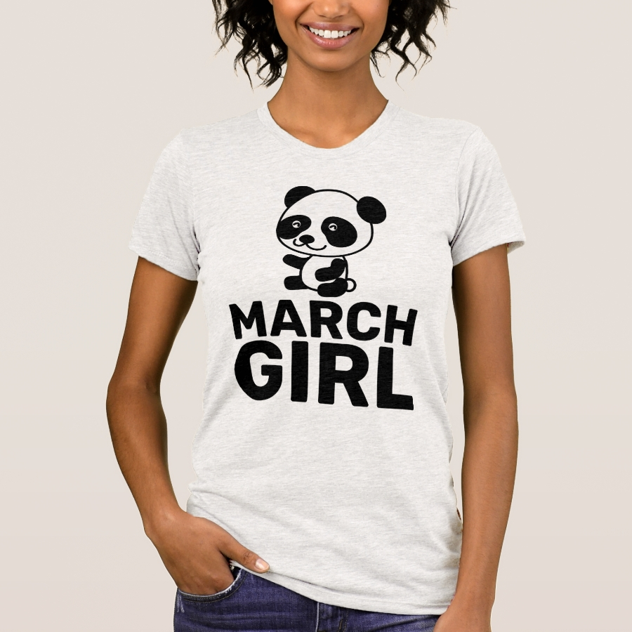 MARCH BIRTHDAY GIRL T-Shirts - Best Selling Long-Sleeve Street Fashion Shirt Designs
