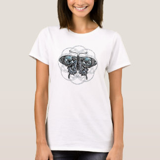 March Birthstone Butterfly T-Shirt