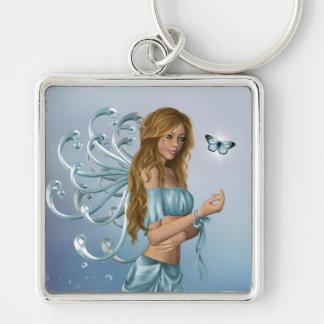 March Birthstone Fairy Key Chains