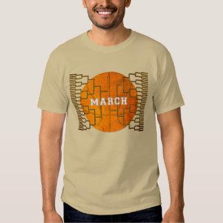 MARCH BRACKETOLOGY BASKETBALL T SHIRT