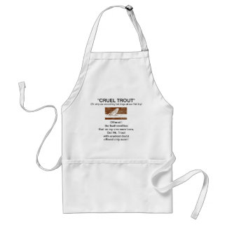"""March Brown Natural"" Wet Fly-Cruel Trout""  Apron"
