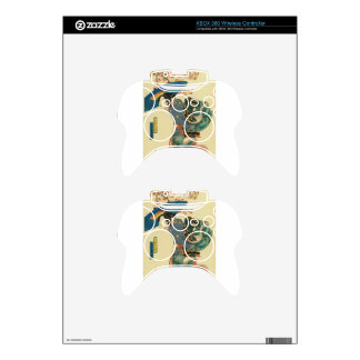 March - Cherry blossom viewing by Keisai Eisen Xbox 360 Controller Skin