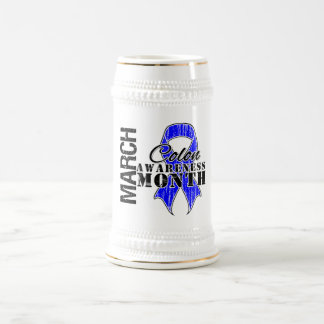March Colon Cancer Awareness Month Mugs