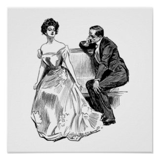 MARCH CONTEST ~ GIBSON GIRL POSTER