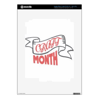 March - Craft Month - Appreciation Day iPad 3 Decals