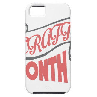 March - Craft Month - Appreciation Day iPhone SE/5/5s Case