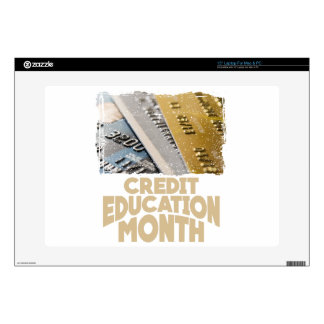 March - Credit Education Month - Appreciation Day Decal For Laptop