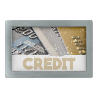 March - Credit Education Month - Appreciation Day Rectangular Belt Buckle