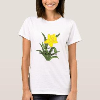 March Daffodil New Beginnings shirt