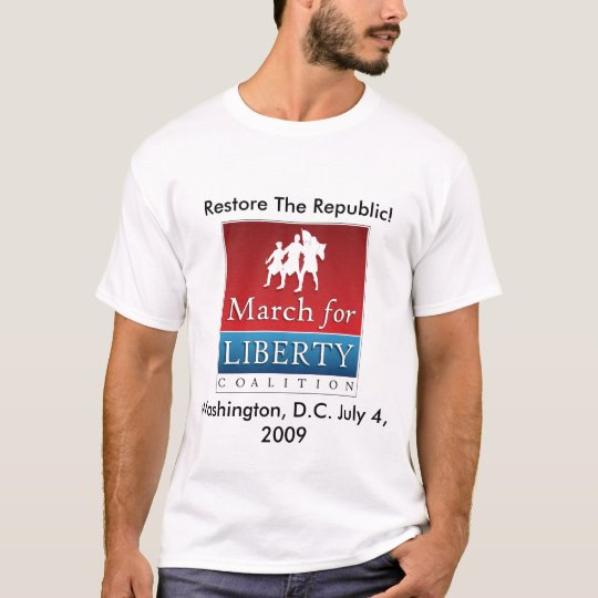 March For Liberty T-Shirt