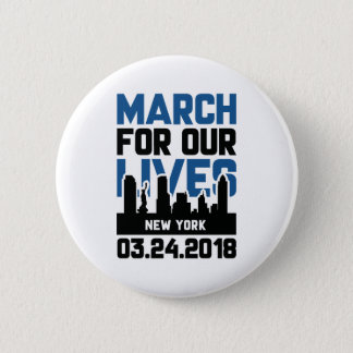 March For Our Lives New York Pinback Button