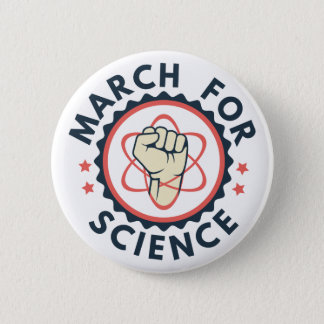 March For Science Button