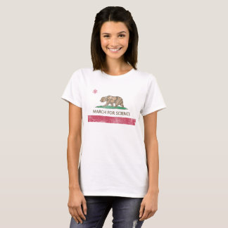 March for Science California Flag T-Shirt