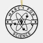 march_for science ceramic ornament