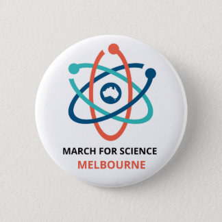 March for Science - Melbourne - Pinback Button
