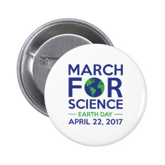 March For Science Pinback Button