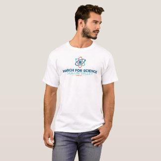 March for Science SV Men's Basic T-shirt White
