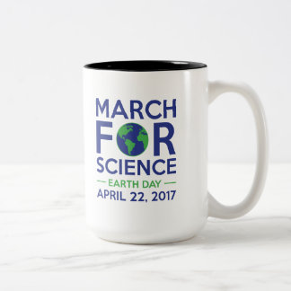 March For Science Two-Tone Coffee Mug