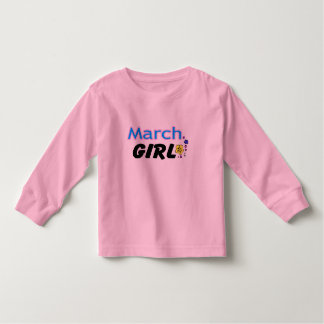 March Girl Toddler T-shirt