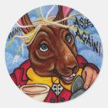MARCH HARE Alice in Wonderland  Sticker