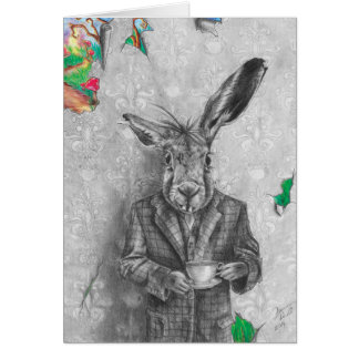 March Hare - Blank Notecard Greeting Card