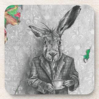 March Hare Coaster Alice in Wonderland Coaster