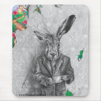 March Hare Mousepad Alice in Wonderland Mousepad