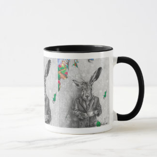 March Hare Mug March Hare Art Wonderland Mug