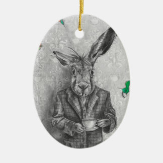March Hare Ornament Alice in Wonderland Ornament
