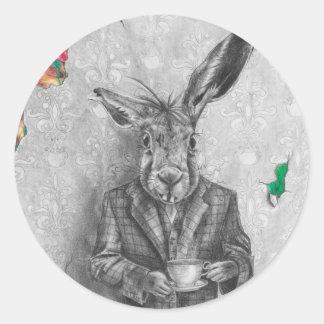 March Hare Sticker Alice in Wonderland Sticker