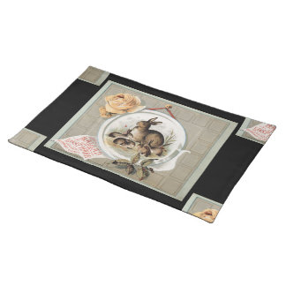 """""""March Hares"""" Placemat"""