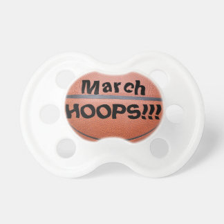 March HOOPS Basketball Pacifier