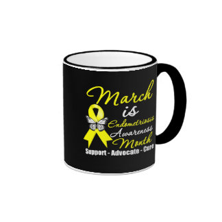 March is Endometriosis Awareness Month Mug