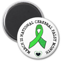 March is National Cerebral Palsy Awareness Magnet