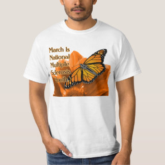 March Is National Multiple Sclerosis T Shirt