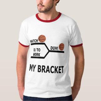 March Madness Basketball Funny Bracket T-Shirts