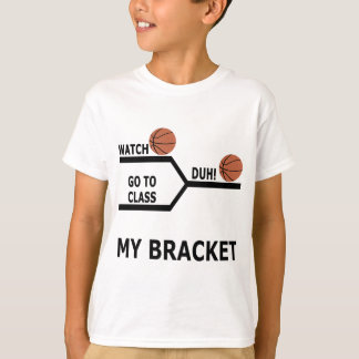 March Madness Basketball Funny Bracket T-Shirts