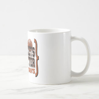 March Madness Brackets Orange Classic White Coffee Mug
