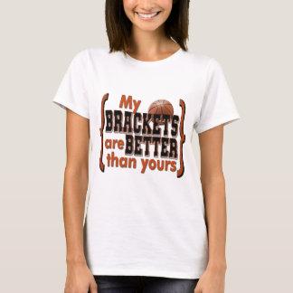 March Madness Brackets Orange T-Shirt