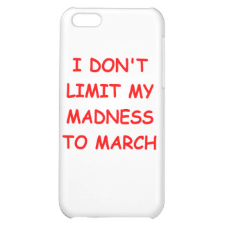 MARCH madness iPhone 5C Covers