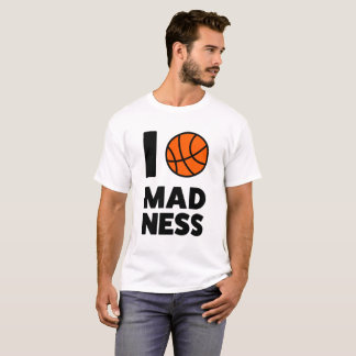 """MARCH MADNESS"" NCAA 2017 College Basketball Tee"