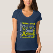 March Matters Endometriosis Awareness Month T-Shirt