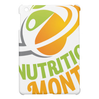 March - Nutrition Month iPad Mini Case