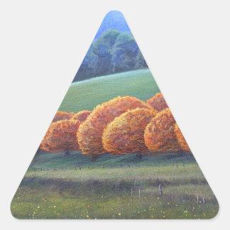 March of Bright Oaks. Triangle Sticker
