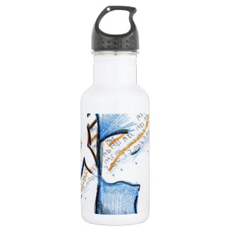 March of Mental 18oz Water Bottle