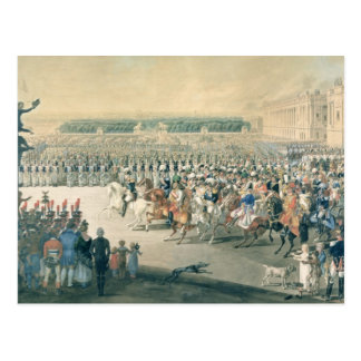 March of the Allied forces into Paris, 1815 Postcard